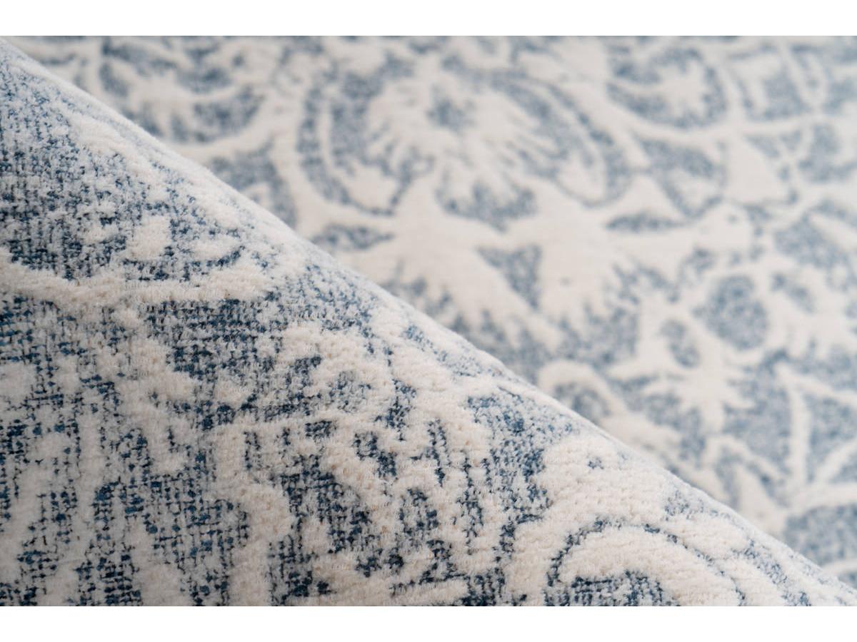 Tapis VINTO Crème / Bleu 200cm x 290cm 4