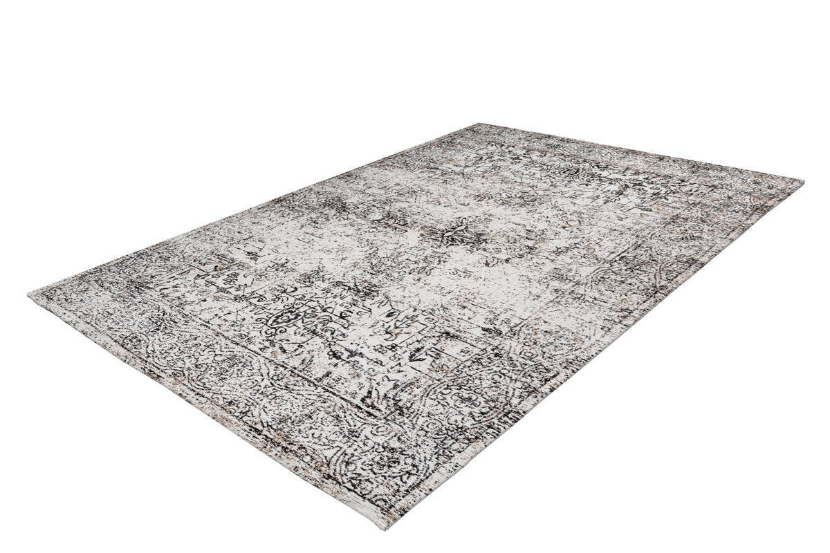 Tapis VINTO Anthracite / Crème 160cm x 230cm2