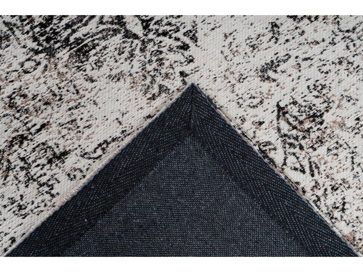 Tapis VINTO Anthracite / Crème 160cm x 230cm5