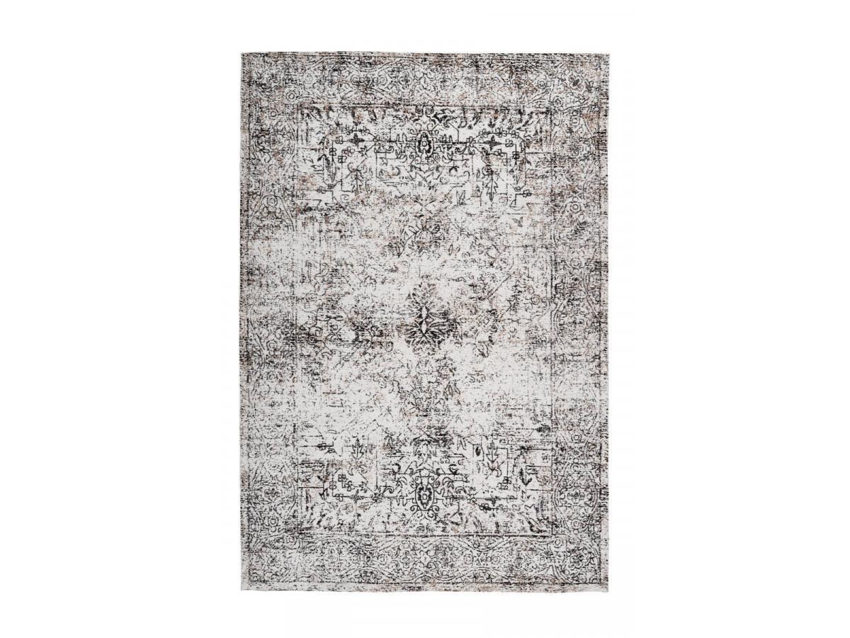 Tapis VINTO Anthracite / Crème 200cm x 290cm 3