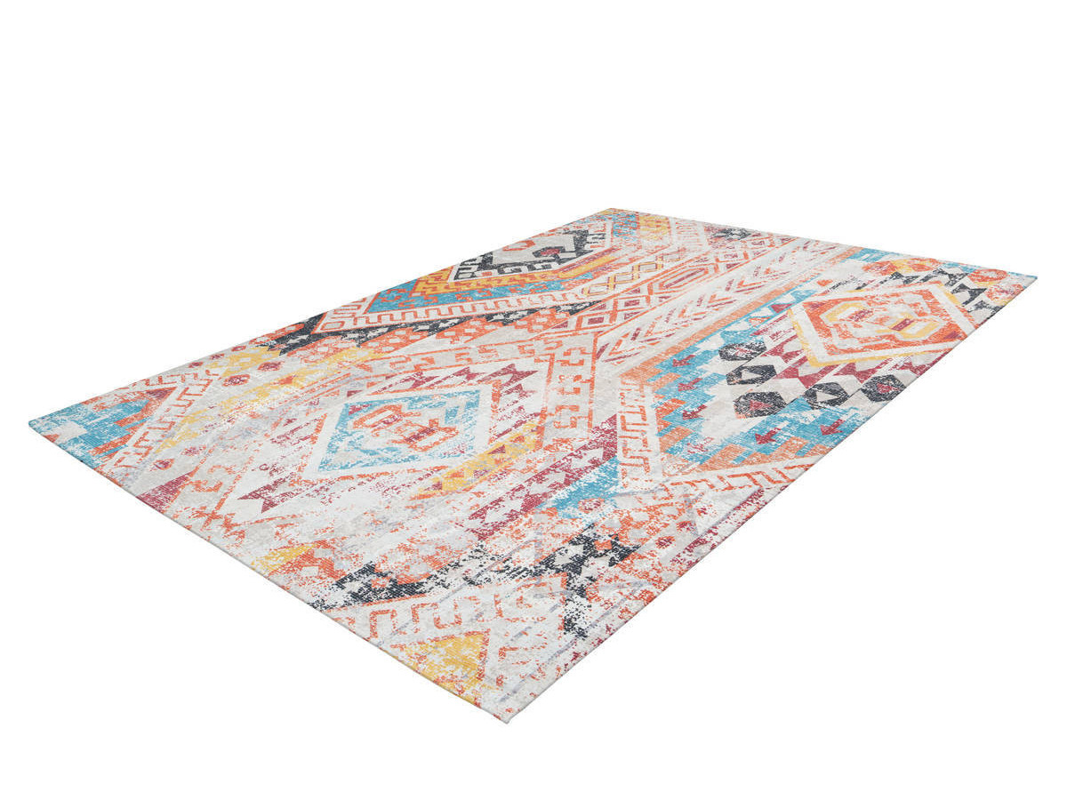 Tapis APACHE Multicolor / Orange 80cm x 150cm