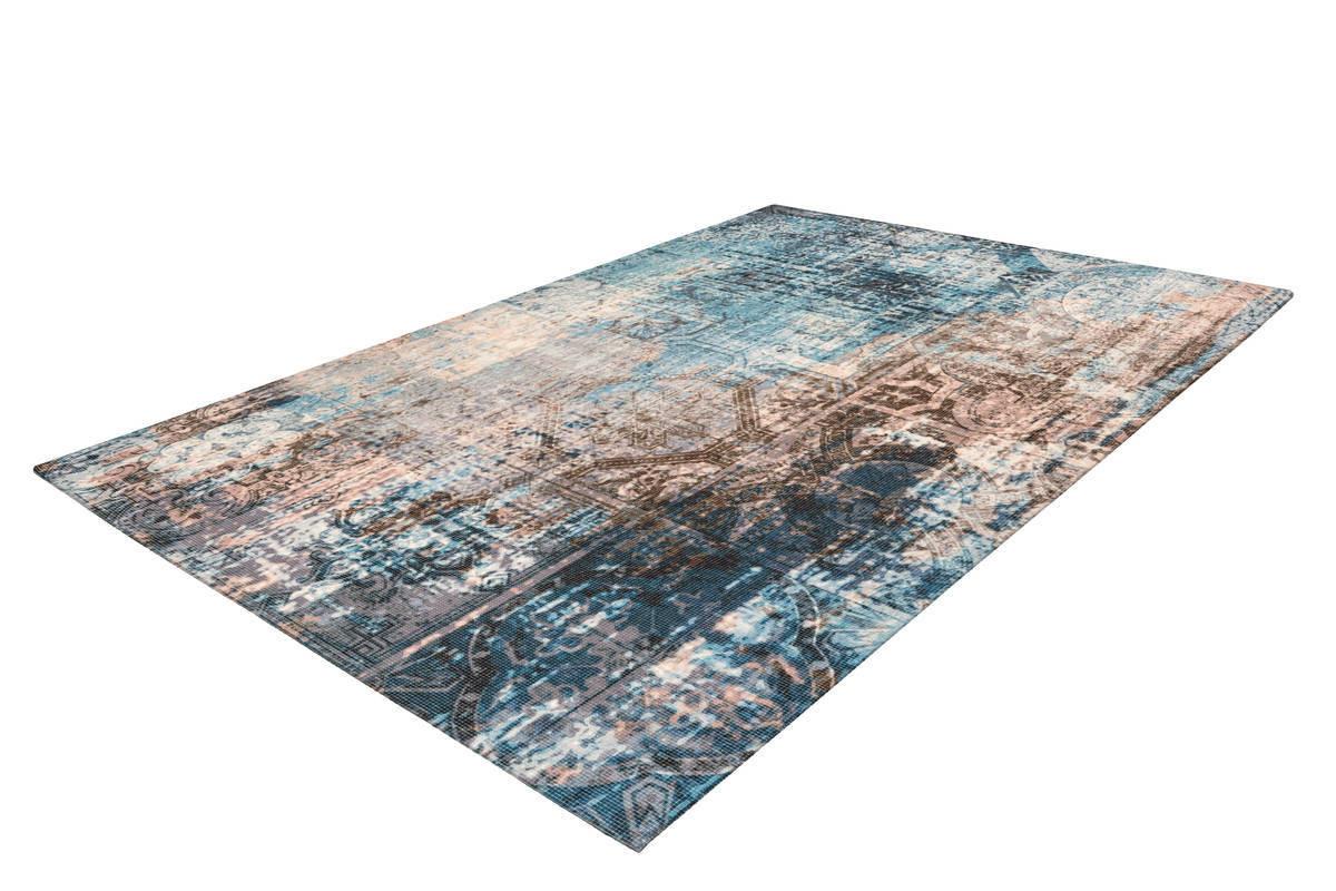 Tapis APACHE Bleu / Marron 160cm x 230cm2