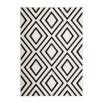 Tapis ZAGORA Ivoire / Noir 160cm x 230cm3