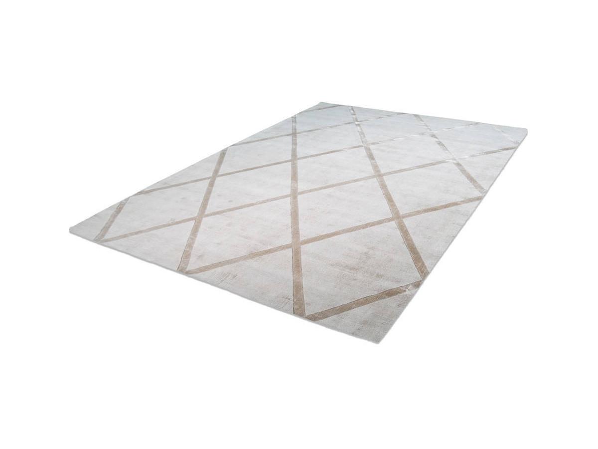 Tapis VENITTO Ivoire / Taupe 160cm x 230cm