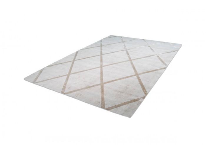 Tapis VENITTO Ivoire / Taupe 80cm x 150cm
