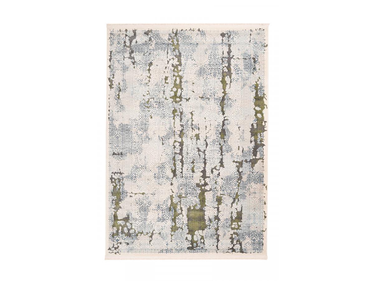Tapis TENZO Gris /Vert 160cm x 230cm3