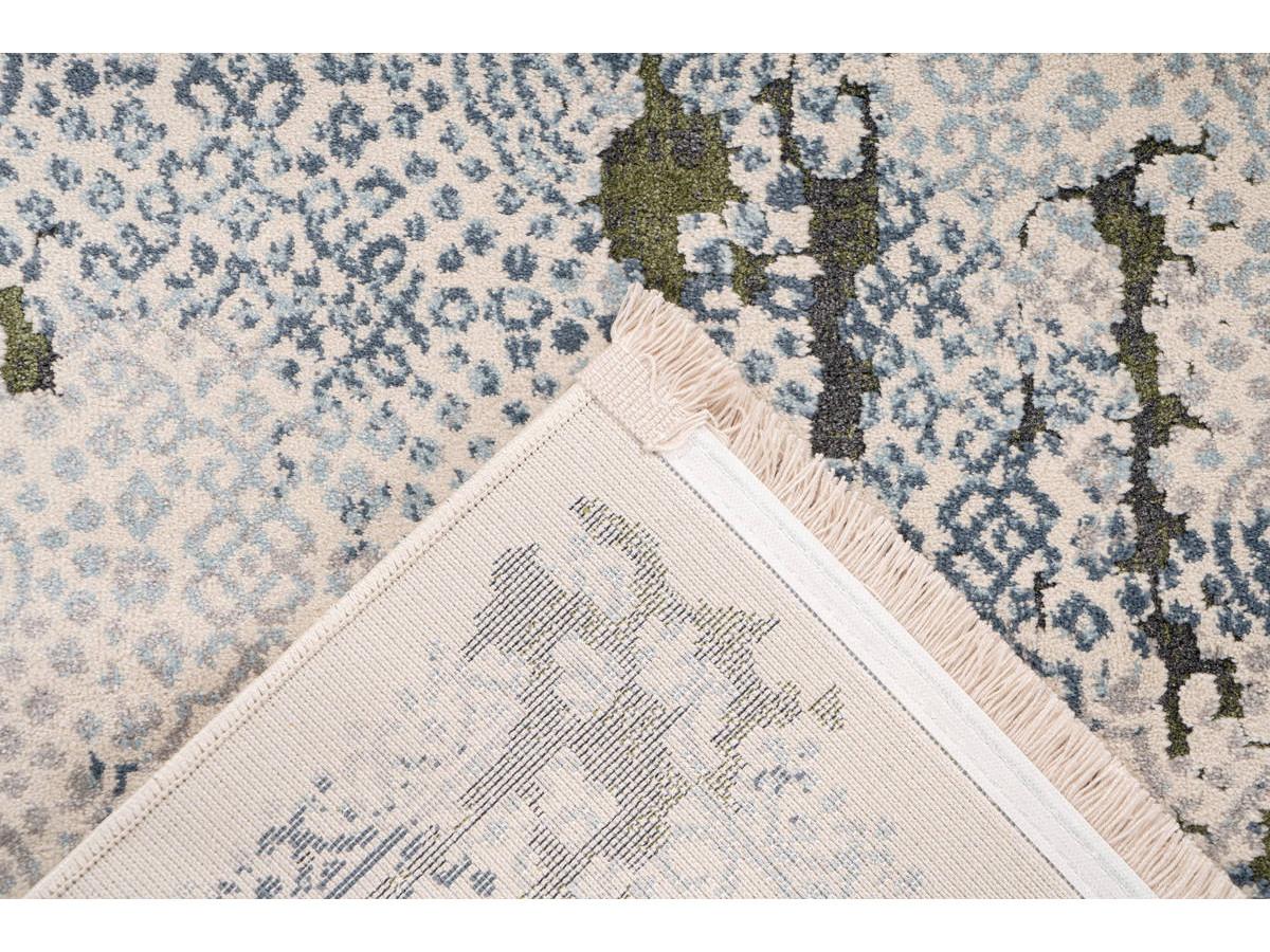 Tapis TENZO Gris /Vert 80cm x 150cm5