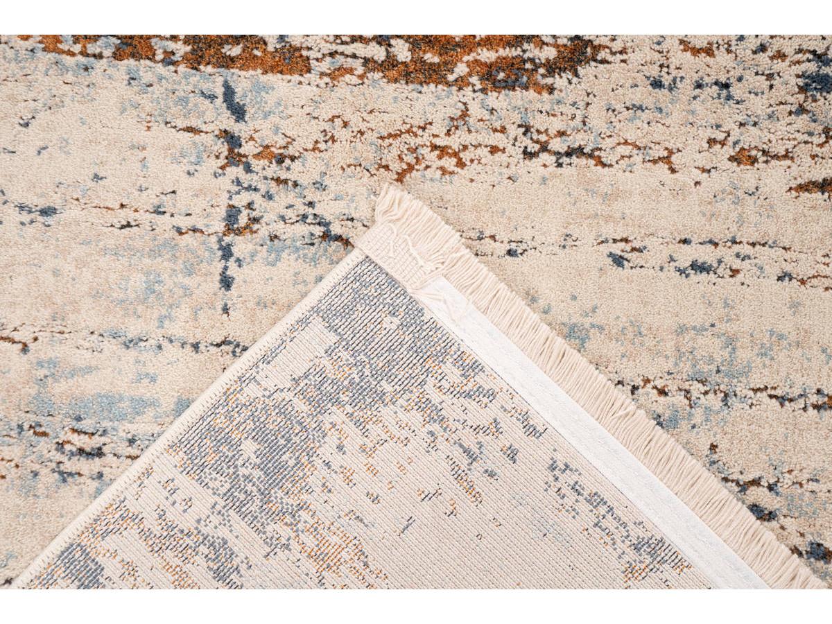 Tapis TENZO Gris / RostRouge 120cm x 170cm5