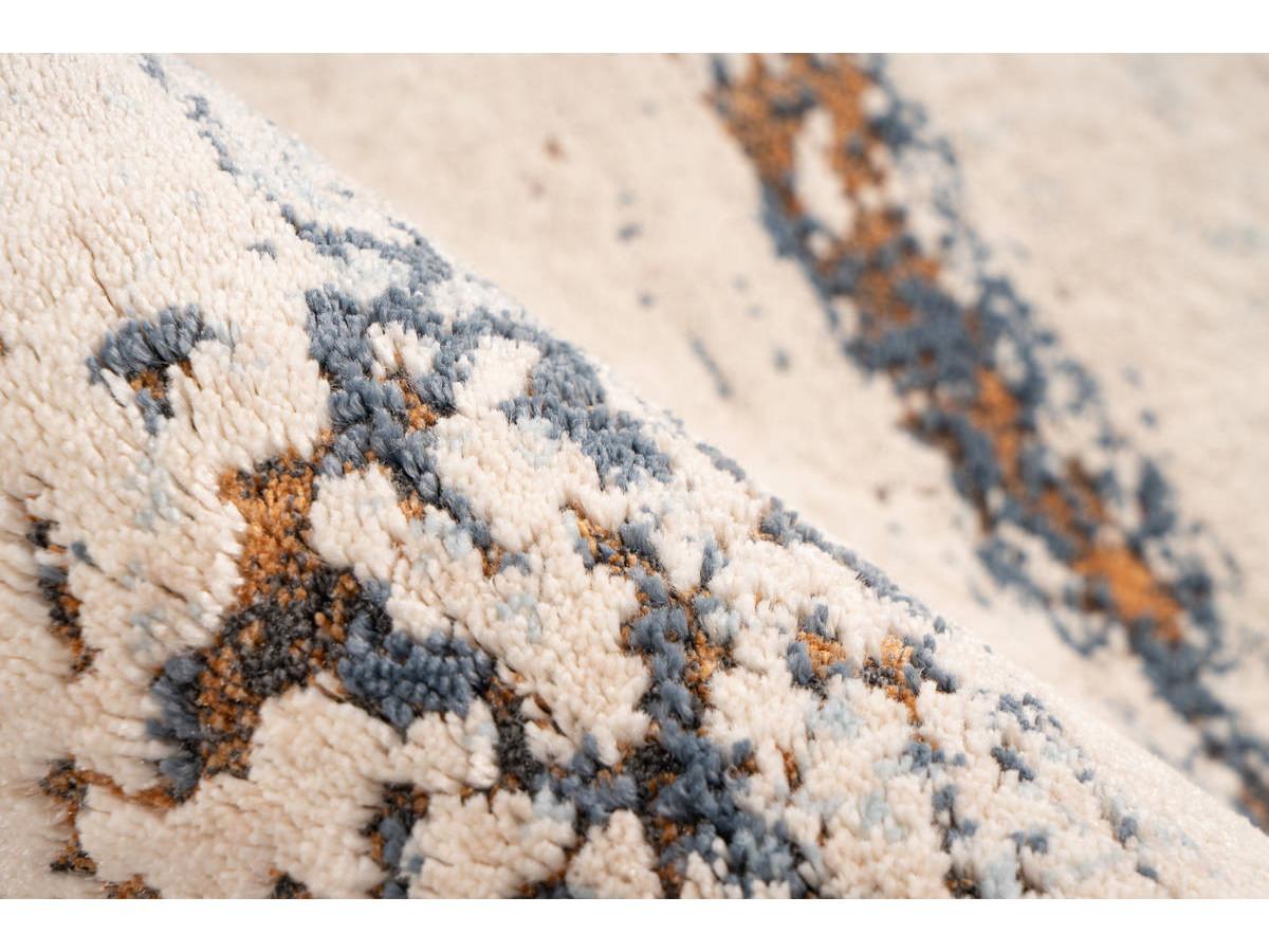 Tapis TENZO Gris / RostRouge 200cm x 290cm4
