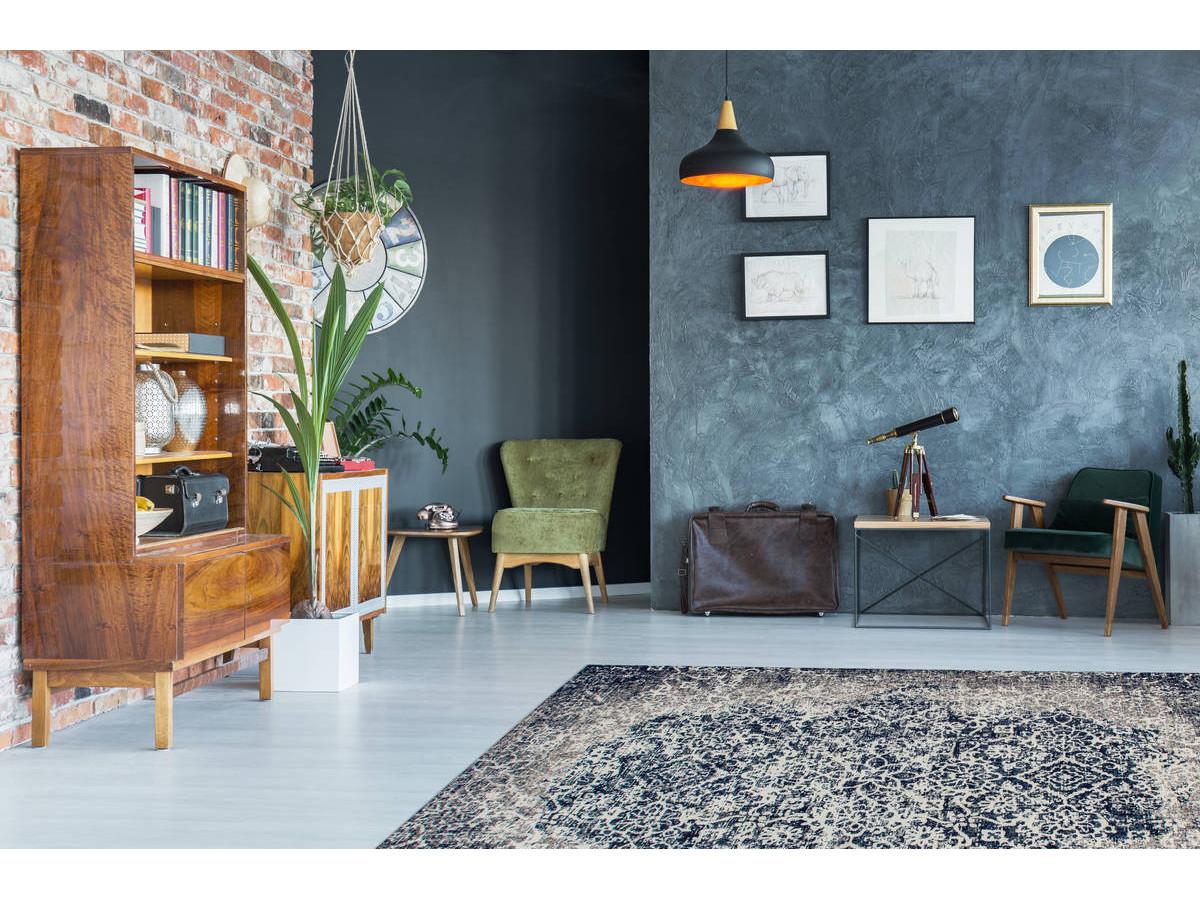 Tapis KADIX Gris / Multicolor 155cm x 230cm1