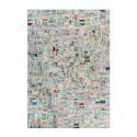 Tapis KIMI Ivoire / Multicolor 160cm x 230cm3