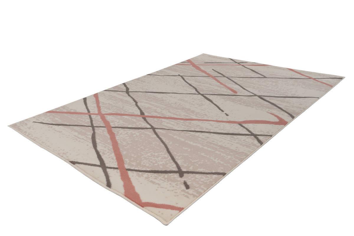 Tapis KRISTA Crème / Marron / Rosé 200cm x 290cm2