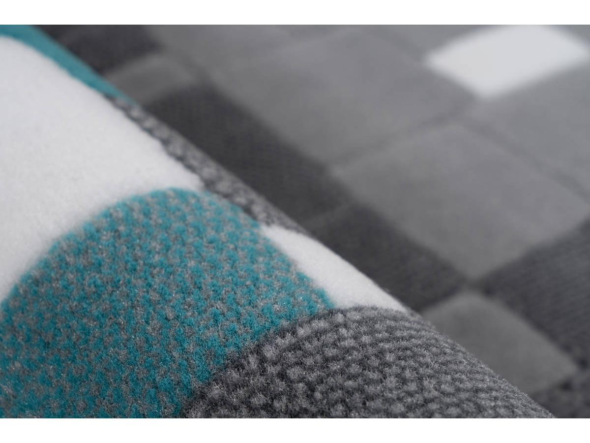 Tapis KRISTA Multicolor / Turquoise 120cm x 170cm4