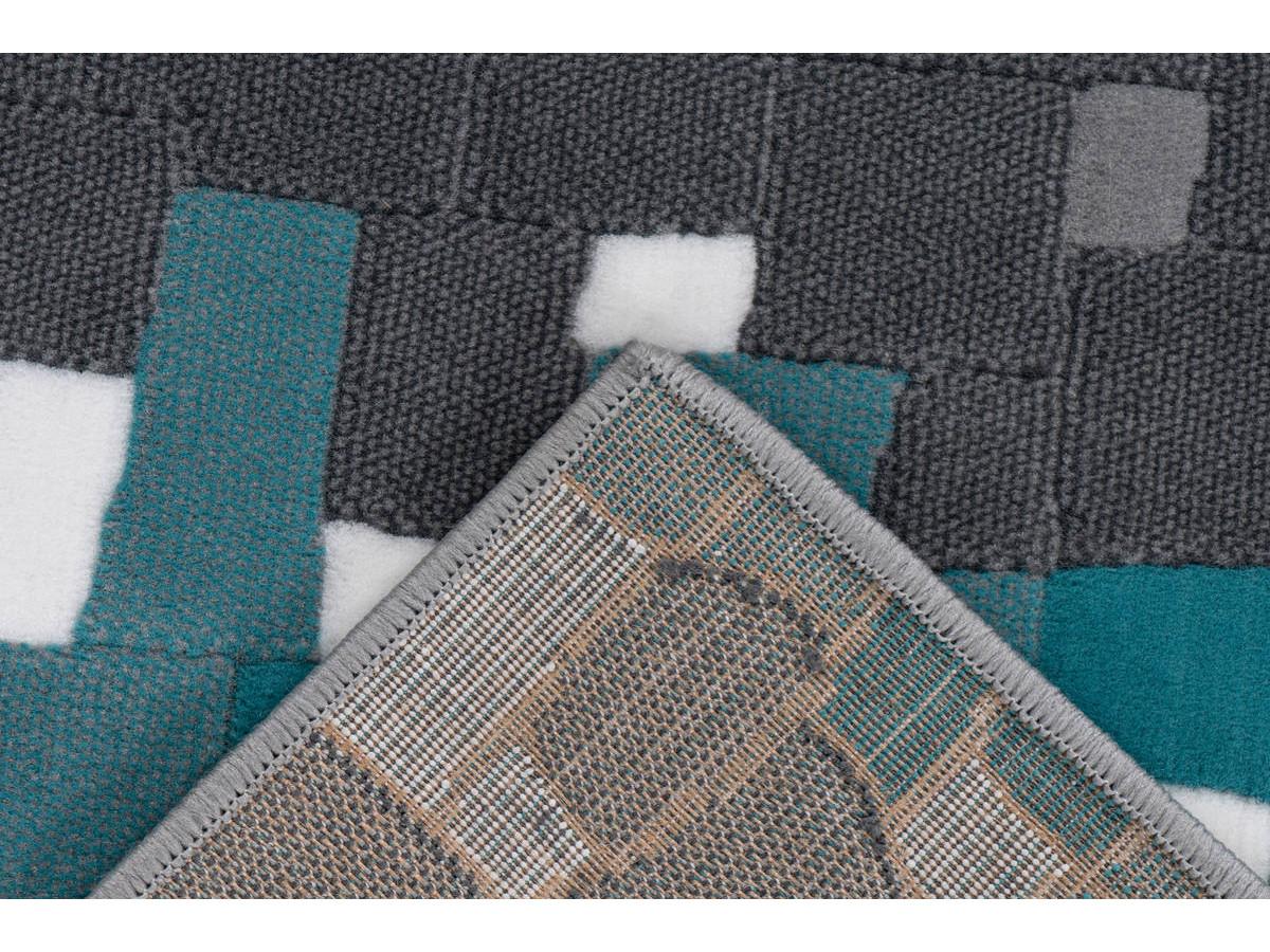 Tapis KRISTA Multicolor / Turquoise 120cm x 170cm5