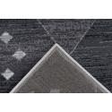 Tapis KRISTA Gris / Blanc 80cm x 150cm5