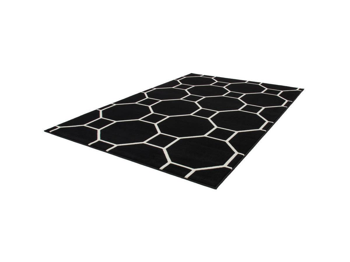 Tapis IRMA Noir / Ivoire 160cm x 230cmx2