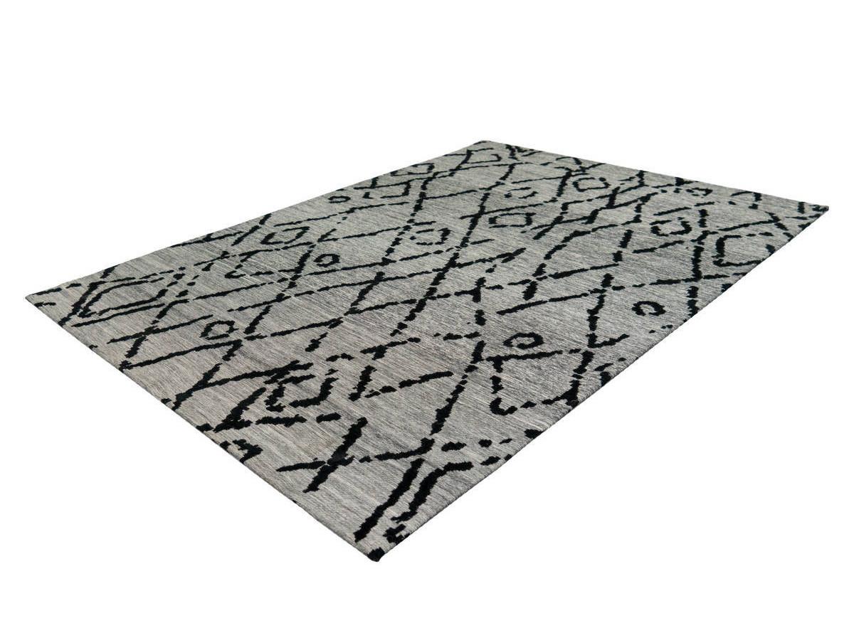 Tapis KADIX Gris / Noir 120cm x 170cmx