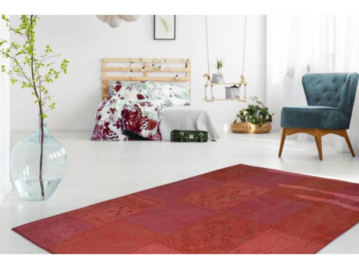 Tapis MISSO Multicolore / Rouge 160cm x 230cm
