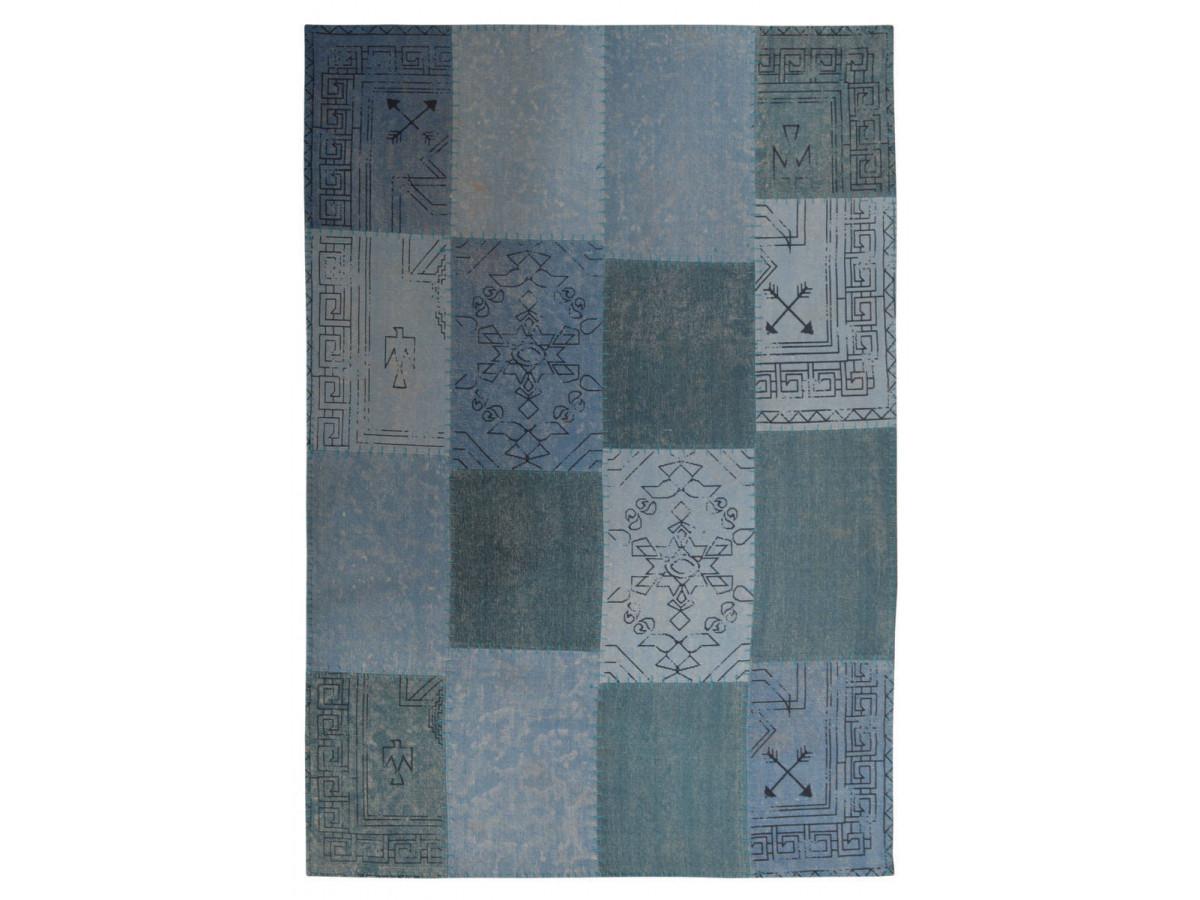 Tapis MISSO Multicolor / Bleu 80cm x 150cm