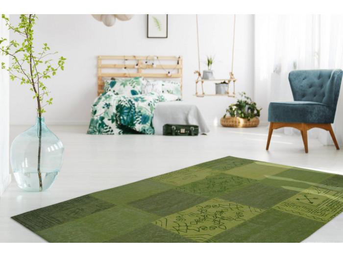 Tapis MISSO Multicolore/Vert 80cm x 150cm