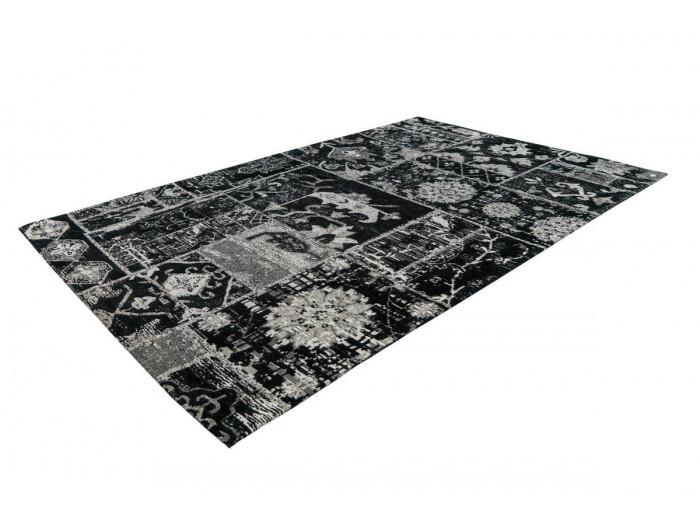 Tapis KADIX Gris / Noir 155cm x 230cm