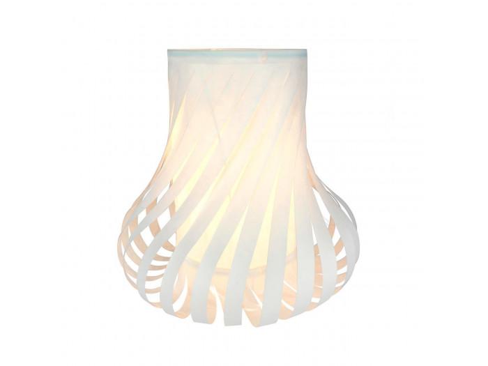 Lampe deco en papier Fuse Blanc