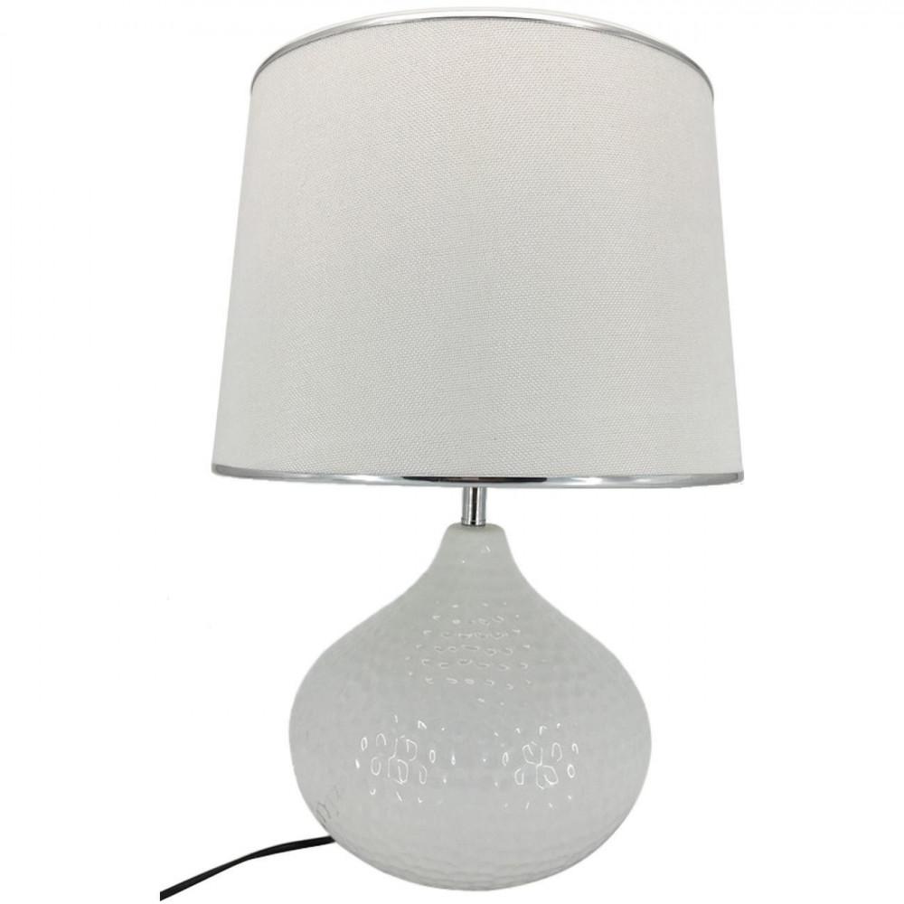 Lampe sphère céramique ORION Blanc
