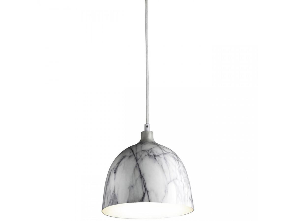 Suspension élégante en metal Olla Gris et Blanc B