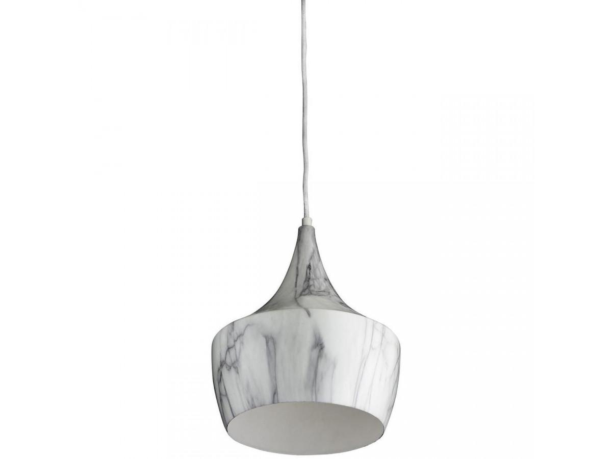 Suspension élégante en metal Olla Gris et Blanc C