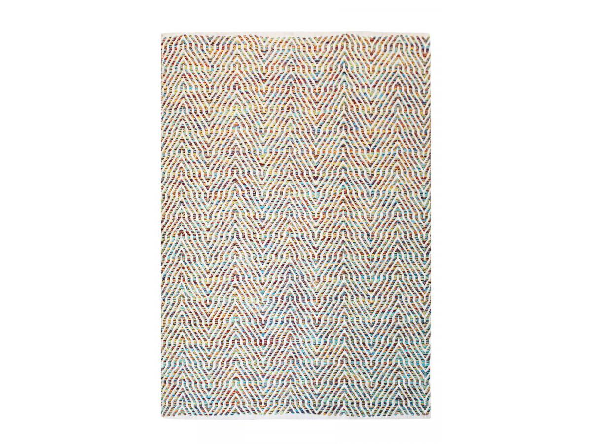 Tapis d'extérieur HANSA Multcolor / Rouge 80cm x 150cm