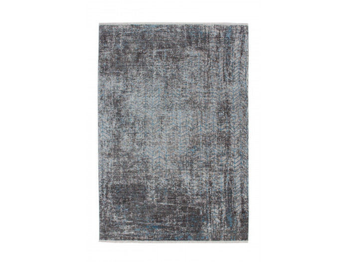 Tapis FONZY Gris / Bleu 200cm x 290cm