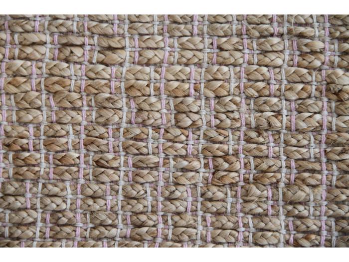 Tapis d'extérieur MALEE Naturel / Rose 80cm x 150cm
