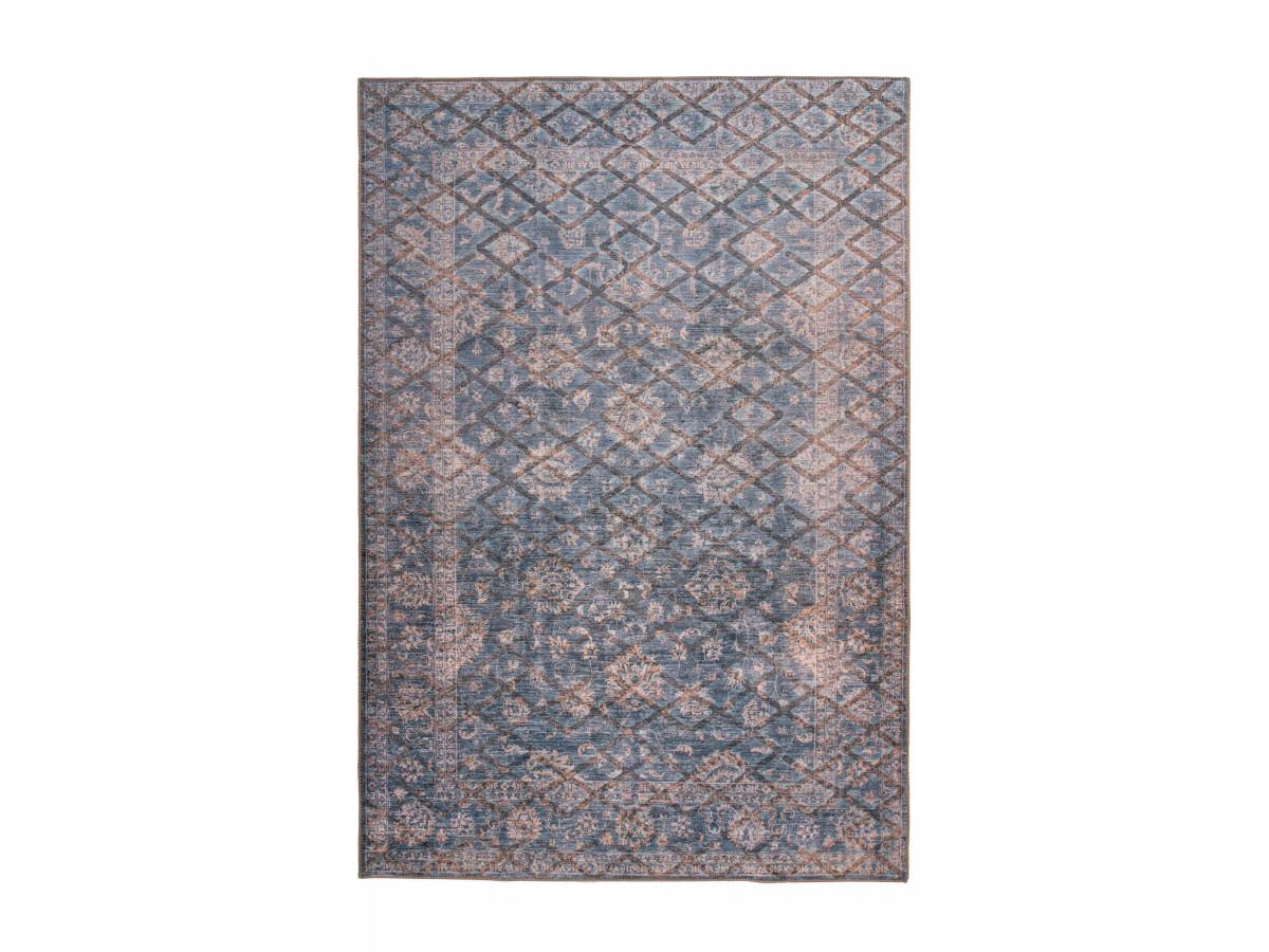 Tapis ZELI Gris / Or 80cm x 150cm