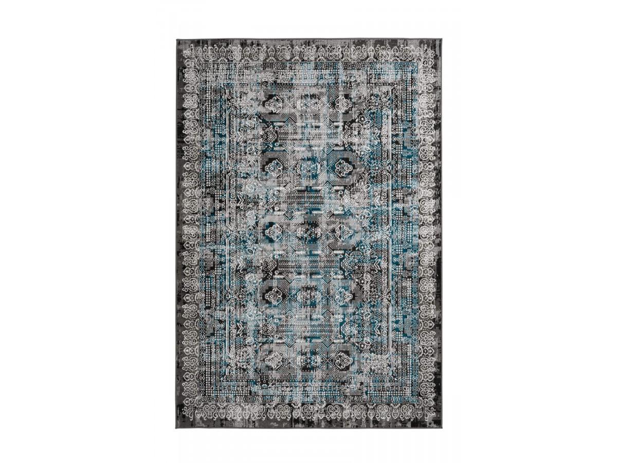 Tapis MARIKA Gris / Bleu 160cm x 230cm