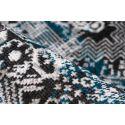 Tapis MARIKA Gris / Bleu 80cm x 150cm