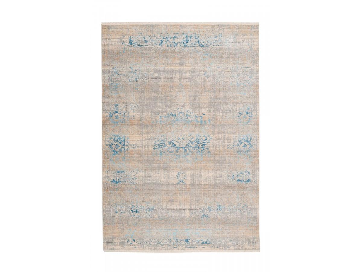 Tapis FAKIR Gris / Turquoise 160cm x 230cm