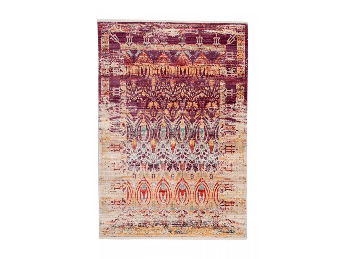 Tapis FAKIR Multicolor / Rouge / Jaune 120cm x 180cm