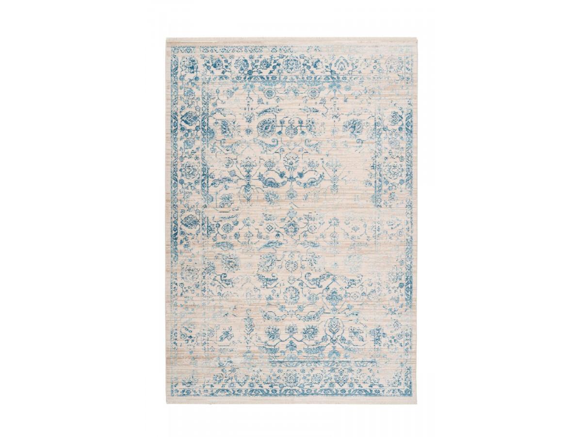 Tapis poils courts FAKIR motif vintage multicolor