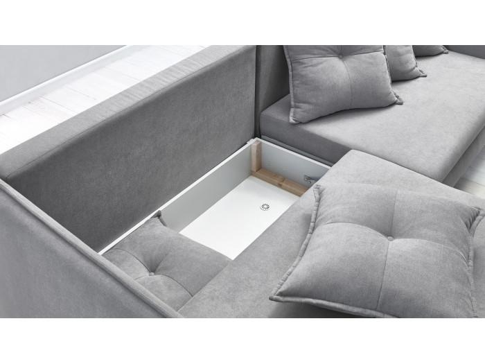 Canapé convertible coffre RIGA