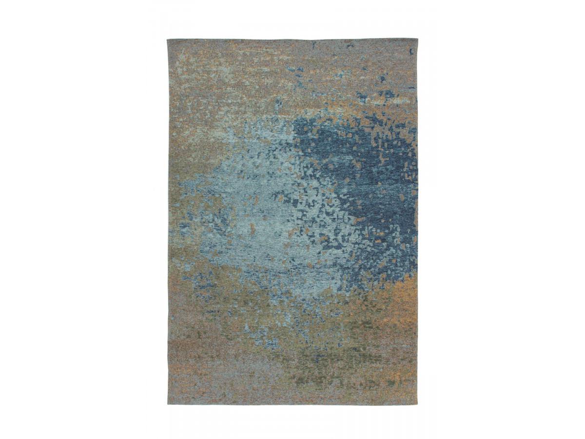 Tapis SALOMA Multicolor / Bleu 75cm x 150cm