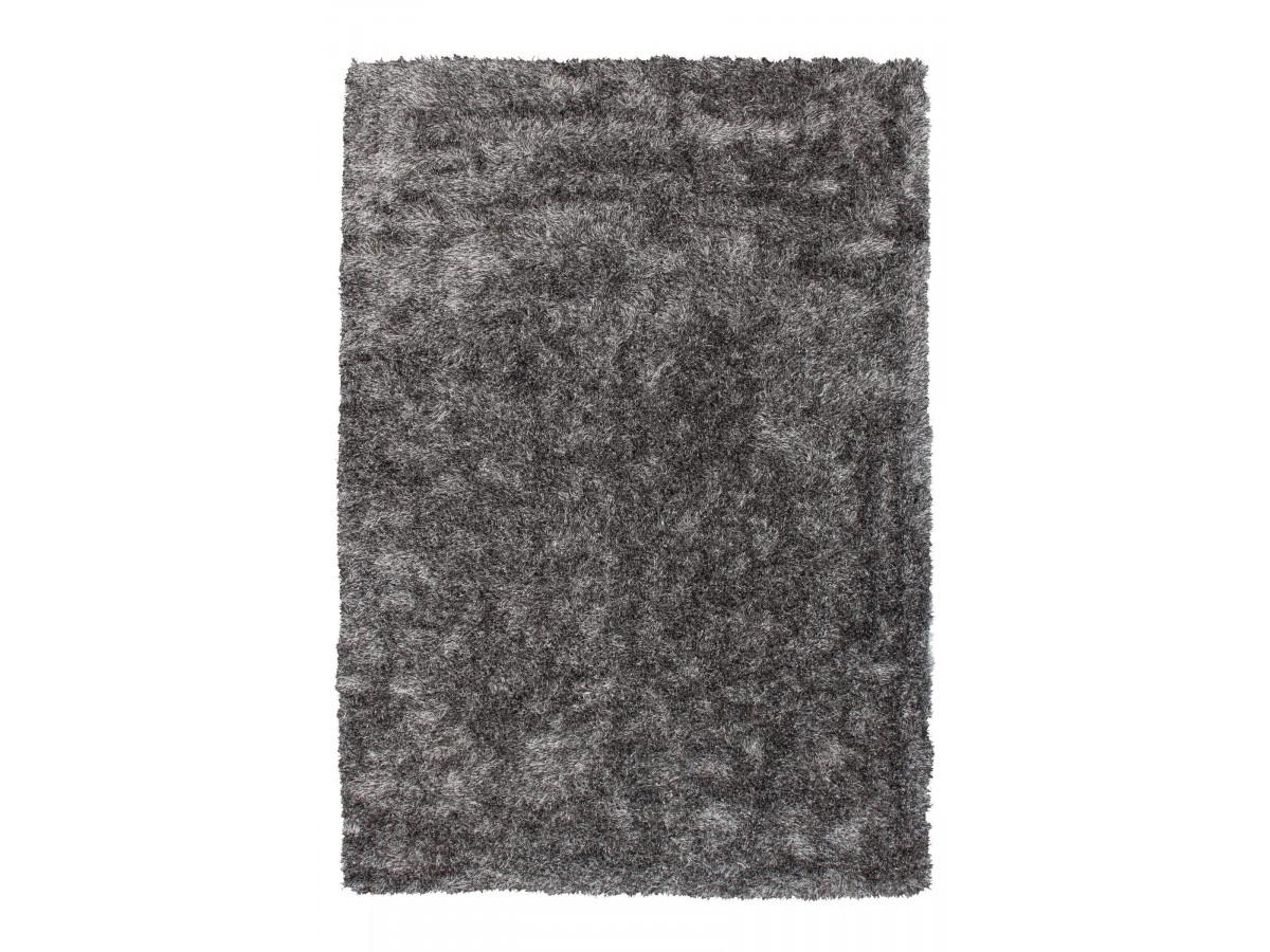 Tapis MIRENA Gris / Blanc 80cm x 150cm