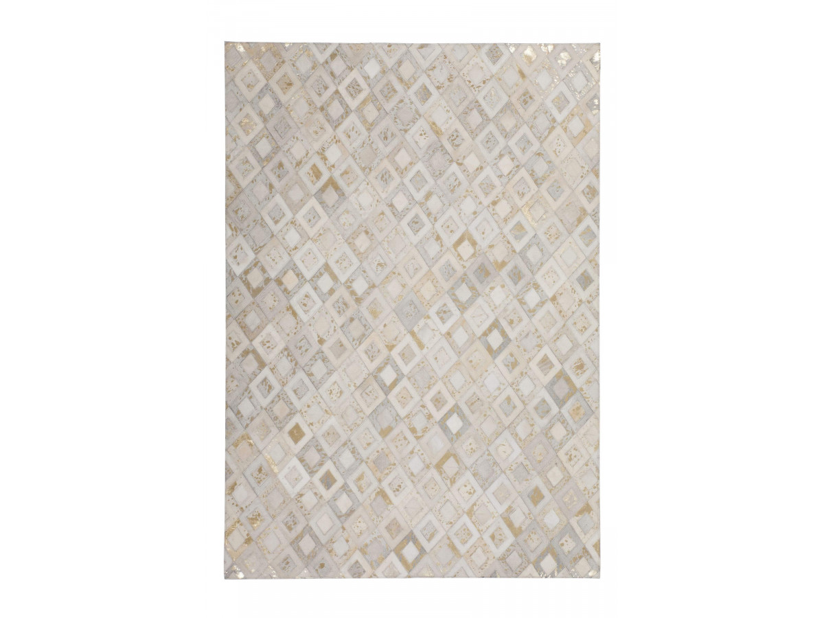 Tapis KHALED Ivoire / Or 120cm x 180cm