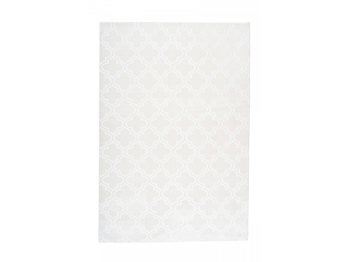 Tapis PALCIO Blanc 120cm x 180cm