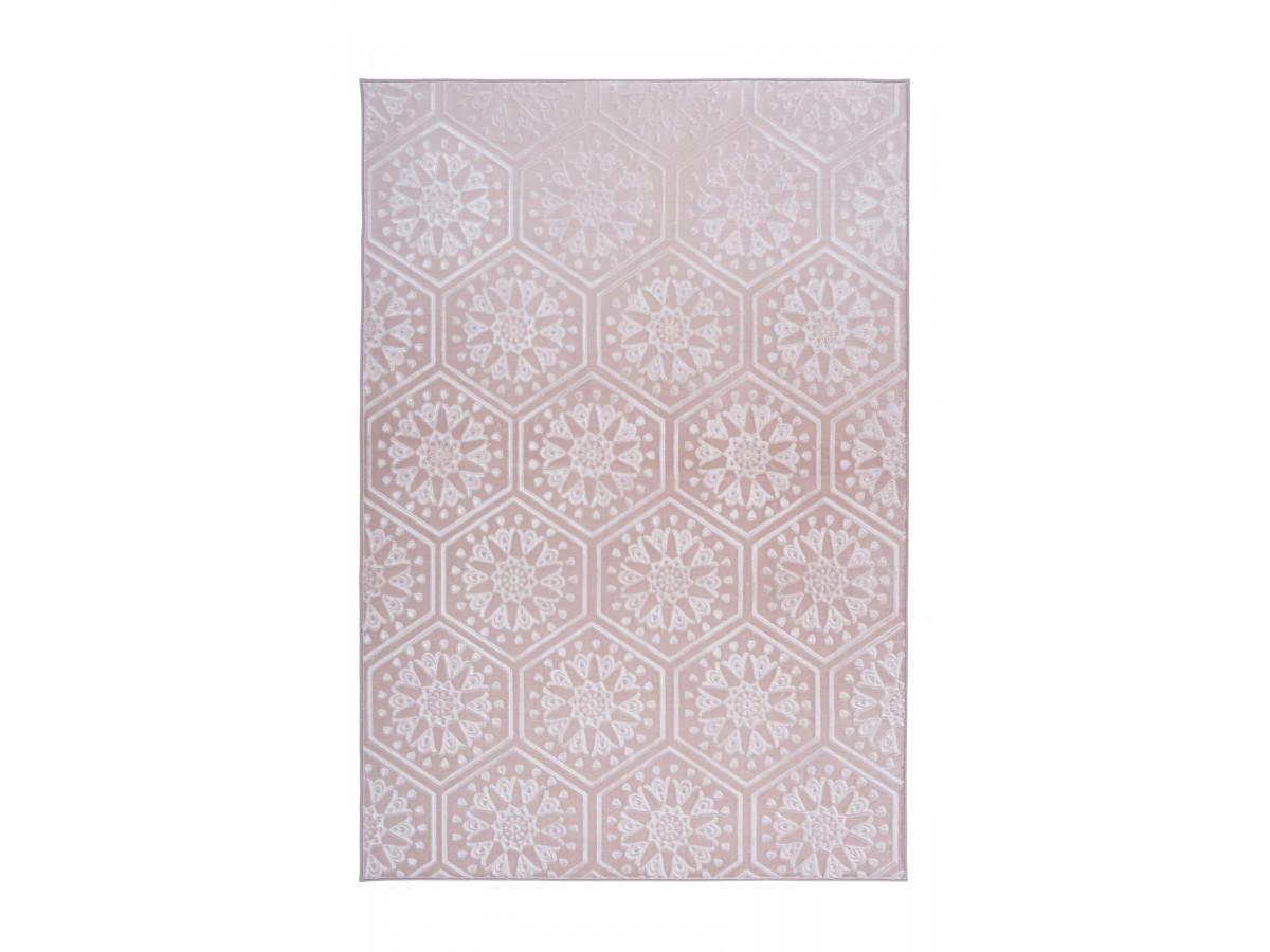 Tapis FLORETTA Rose 80cm x 300cm