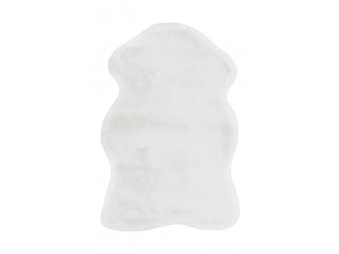 Tapis ZORIA Blanc 60cm x 90cm