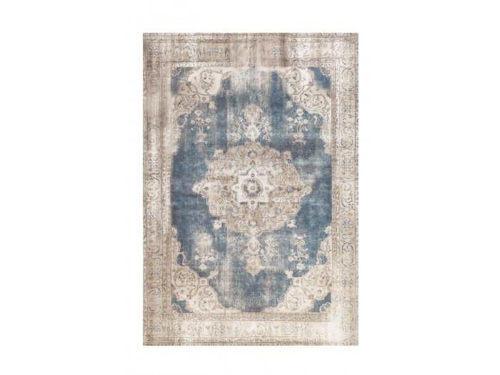 Tapis YAEL Crème / Bleu 160cm x 230cm