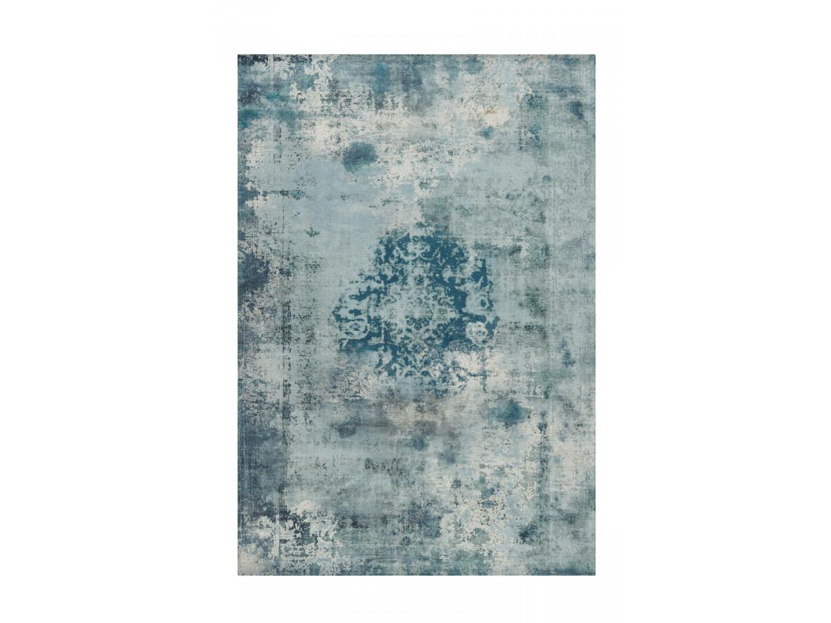 Tapis YAEL Bleu pétrole 140cm x 200cm