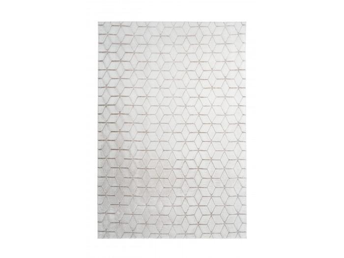 Tapis SIGMA Blanc / Blanc cassé 160cm x 230cm