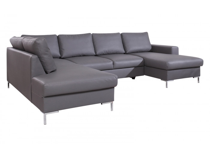 Canapé PU panoramique fixe XXL LILLY