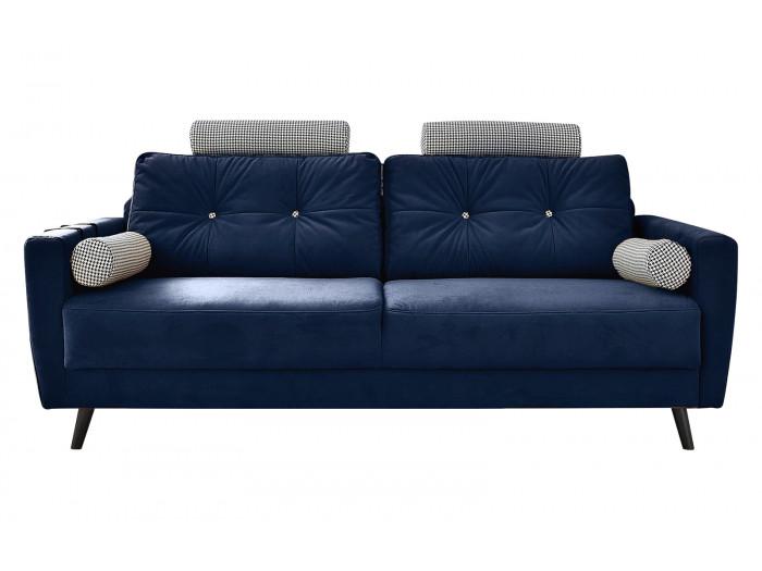 Canapé droit fixe édition limitée velours SCANDI